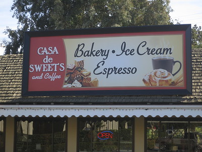 Casa De Sweets sign, see what you're missing?