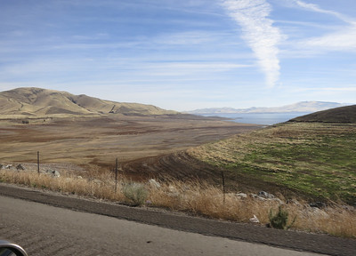 San Luis Reservoir, huge drought