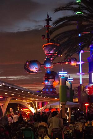 Disneyland Friday - Jan 2015