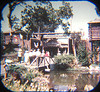 Viewmaster 1959 entrance to Frontierland.