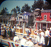 Viewmaster 1959 Mine Train Through Nature's Wonderland ride loading zone.