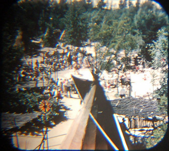1959 Viewmaster of Indian village, with actual (?) Native Americans sharing their culture.