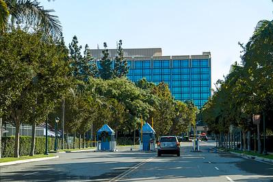 "Disneyland Hotel drive-in entrance ""Posterized"""