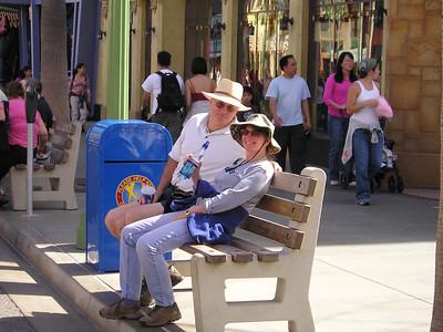 Linda and Paul in Hollywood Backlot