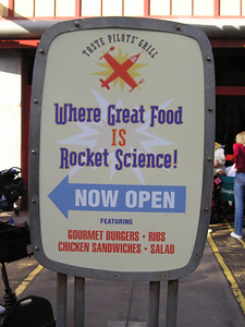 If great food is rocket science--does that mean it's hard to do?