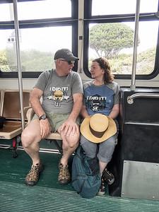 "Sunday Paul Linda Bus ""I did it"" tshirts"