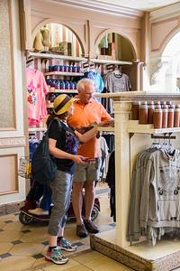 Linda and Paul Shopping Friday