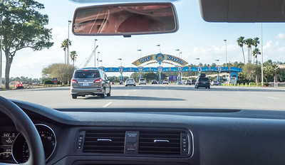 Magic Kingdom entrance!