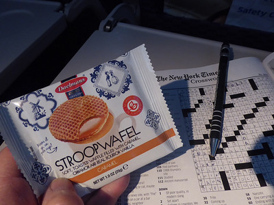 The free in-flight snack