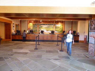 Linda abandoning Shades of Green hotel registration