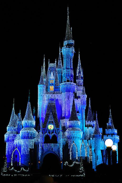 Disney Chistmas Castle 2009