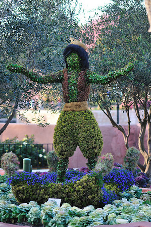Topiary Alladin at the Flower and Garden Festival