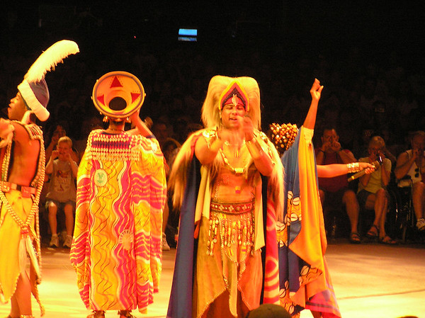 Animal Kingdom - Festival of the Lion King Show