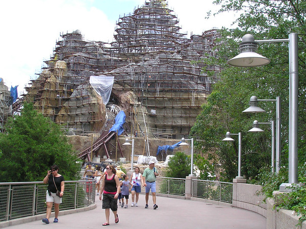 building Expedition Everest