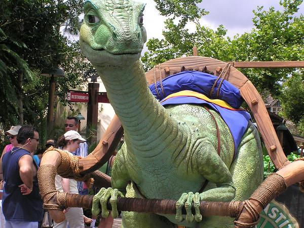 Lucky the Dinosaur