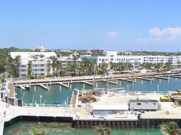 Docking at Key West