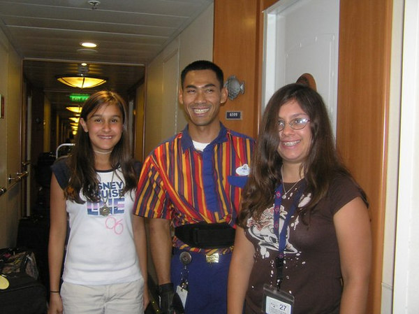Our stateroom host - Tre'