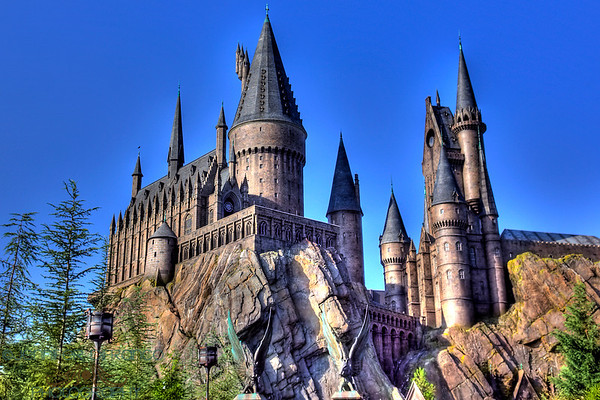 Islands of Adventure....  The Wizardly World of Harry Potter