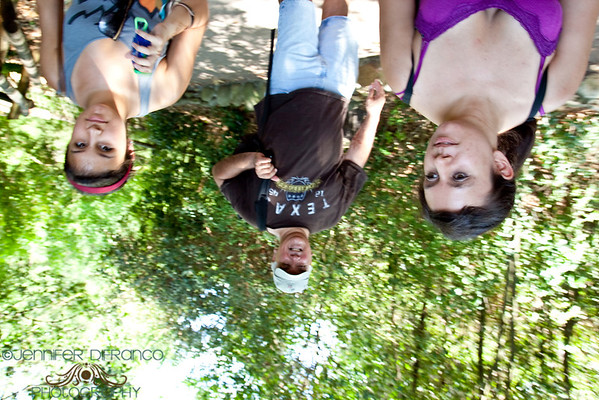 The photo is NOT upside down.  The camera was over my head and upside down.