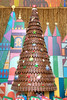 Gingerbread tree at the Contemporary