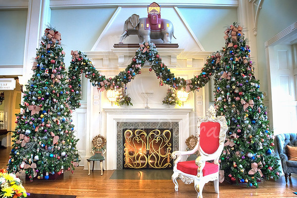 Boardwalk lobby fireplace