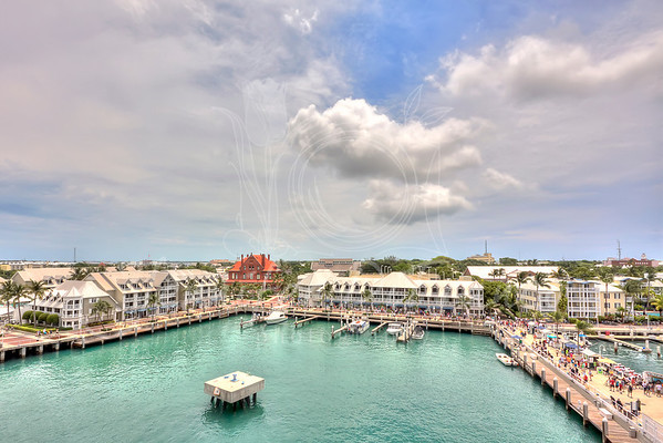 Key West Florida - our first port of call.  This was taken from our verandah.