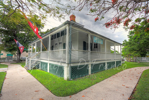 Key West Lighthouse and keepers quarters.