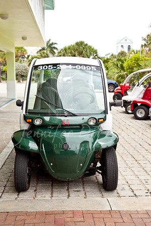 We rented an electric car to scoot around the island with.  It was a lot of fun.