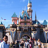 "There's ""Cinderella's Castle"" at Disneyland... although it's much smaller then it's sister castle in Walt Disney World in Florida it's still a special place! :-)"