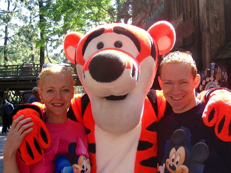 "There we are with ""Tigger""... fun!! :-)"
