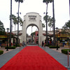 "After enjoying at couple of days at Disneyland we headed to ""Universal Studios Hollywood"" for a day... there's a glimpse at the ""Red Carpet"" welcome we got when there. :-)"
