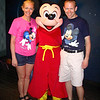 There we are with Mickey Mouse... definitely a guy we like hanging out with! :-)