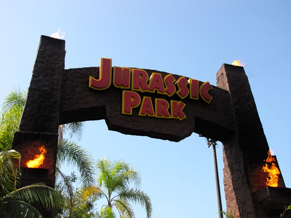 """Jurassic Park""... another favorite ride of ours..."