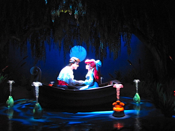 "The ""Little Mermaid"" ride was cute... there's Ariel finding love! :-)"