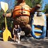 "Day 2 we enjoyed Disney's ""California Adventure""! If you want to get wet make sure to do the ""Grizzly River Run""!"