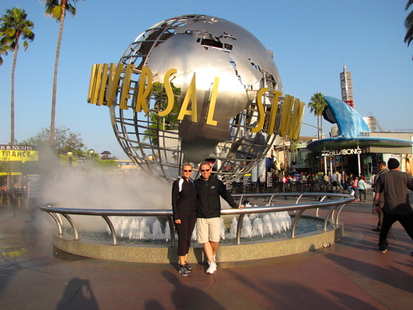 Universal Studios... a great way to enjoy a day in LA! :-)