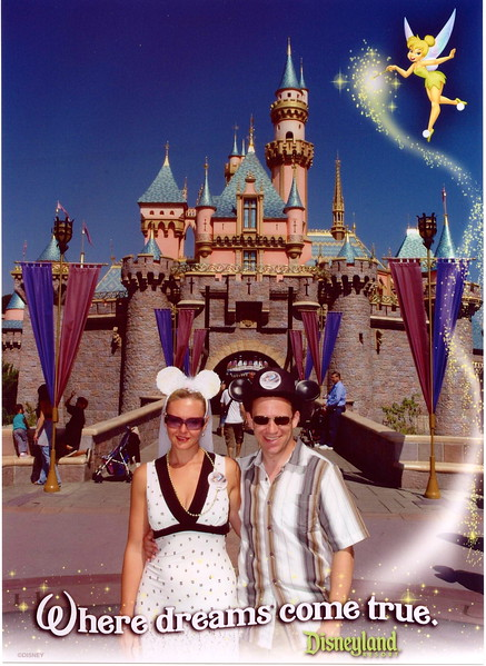 "We can vouch for what it says... ""Dreams really do come true at Disneyland""!! :-)"