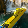 "The Yellow Submarines are back in Disneyland but this time as part of the ""Finding Nemo Submarine Voyage""."
