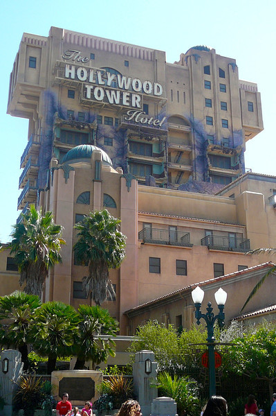"The famous ""Hollywood Tower of Terror""!! Nancy's favorite ride at Disney's California Adventure and Shawn's least. :-)"