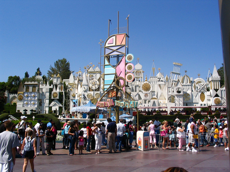 "Sing it with us... ""It's a Small World after all""... :-)"