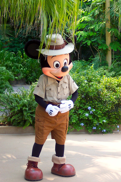 """There's Mickey seeing us out & saying goodbye after our great gay at Disney's """"Animal Kingdom"""".<br /> <br /> Well, it was an amazing 4 days having fun at Walt Disney World and no doubt we'll be back again sometime down the road! :-)"""