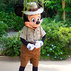 "There's Mickey seeing us out & saying goodbye after our great gay at Disney's ""Animal Kingdom"".<br /> <br /> Well, it was an amazing 4 days having fun at Walt Disney World and no doubt we'll be back again sometime down the road! :-)"