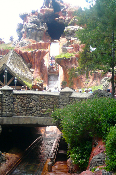 """There's """"Splash Mountain"""", a great ride to cool off in on a Hot Florida day!!"""