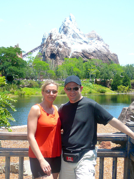 "There's ""Everest Expedition""... Walt Disney World's newest roller coaster & biggest mountain... talk about a fun ride... although not for the faint of heart! :-)"