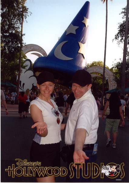 """Day 2 at Walt Disney World we enjoyed some time at """"Disney's Hollywood Studios""""... fun! :-)"""