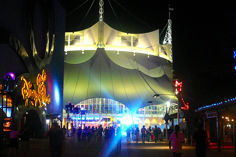 "There's the tent that's home to ""La Nouba"", Cirque Du Soleil's resident show in Downtown Disney.  This will always be a special Cirque for us as it was our 1st we ever saw... and now we're at almost 20 of them! :-)<br /> <br /> Well, like our 1st time visiting Walt Disney World together 4 years ago we had a great time & can't wait to come back again soon!"