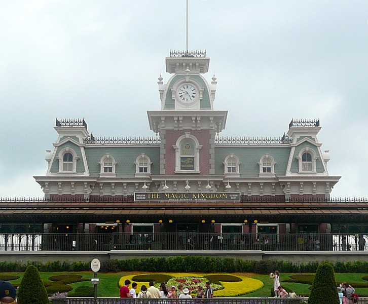 "There's one of the most photographed sites at the ""Magic Kingdom""... the Train Station that welcomes you at the entrance to the park.  Make sure to do the train ride when there when you need a break, it's a great way to get off your feet for 20mins! :-)"