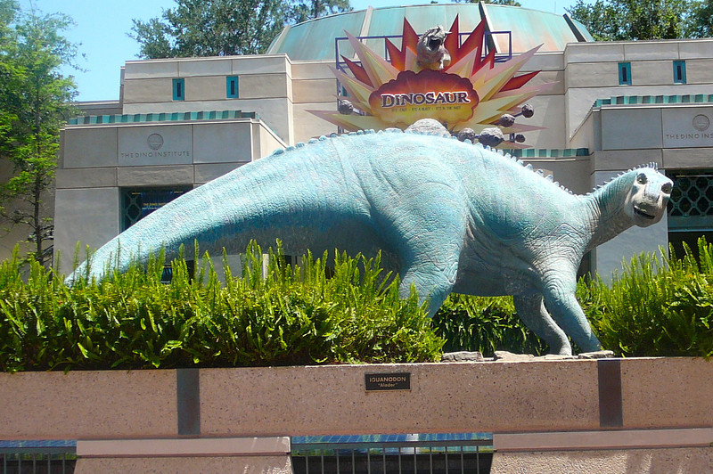 """""""Dinosaur""""... another great ride at Animal Kingdom!"""