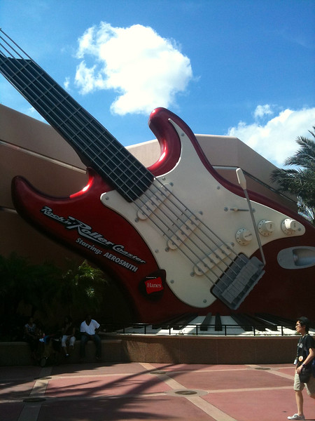 "And for you thrill seekers make sure to do Aerosmith's ""Rockin Roller Coaster""!! :-)"