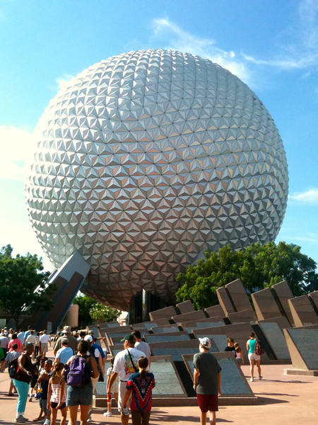"For day 3 it was off to Epcot to enjoy rides, watch shows and of course to go ""Around the World"". :-)"